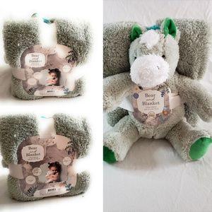 Kids Plush Teddy * Blanket  Baby Shower Gift Sets